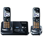 Panasonic KX-TG9322T DECT 6.0 2 Line Expandable Digital Cordless Phone