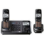 Panasonic KX-TG9382T 2-Line DECT 6.0 Expandable Digital Cordless Answering System