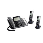 Panasonic 2 Line Corded Cordless, Link2Cell, 2HS