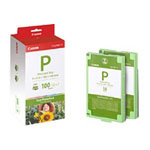 Canon Easy Photo Pack E-P100 - Print Ribbon Cassette And Paper Kit