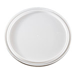 Berry Plastics L607DS White Double Seal Lid