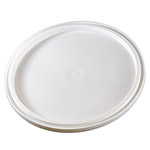 Berry Plastics L801DS White Double Seal Lid