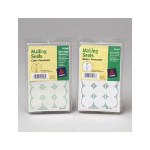 Avery Perforated Mailing Seals, Clear, 480 Labels per Pack