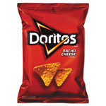 Doritos Nacho Cheese Tortilla Chips, 1.75 oz Bag, 64/Carton