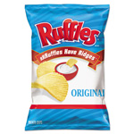 Frito Lay Original Potato Chips, 1.5 oz Bag, 64/Carton