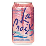 LaCroix Sparkling Water, Cran Raspberry, 12 oz Can, 24/Carton