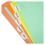 Lee Hefty Index Tabs, White