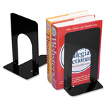 "Charles Leonard Bookend 9"" Non Skid Black"