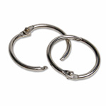"Charles Leonard Multi-Purpose Rings, 1"" Diameter, Aluminum"