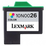 Lexmark Ink Cartridge for Color Jetprinter X75, X1150, and others, Color
