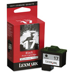 Lexmark Ink Cartridge for Color Jetprinter Z2250, Z515, and others, Black