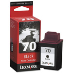 Lexmark Ink Cartridge for Color Jetprinter X63, Z42, and others, Black
