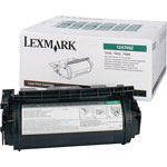 Lexmark High Yield Print CartridT630, 632, 634, 21K, Return Program, Black