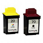 Lexmark Ink Cartridge for Color Jetprinter X63, Z42, and others, Black/Color