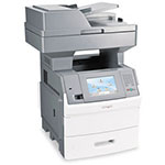 Lexmark X651DE Monochrome Multifunction Laser Printer (Copier/ Printer/ Scanner) with Duplex Printing
