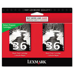 Lexmark 18C2236 (36) Inkjet Cartridge, Black