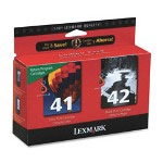 Lexmark Ink Cartridges Combo Pack, 220 Page Yield, Black/Color