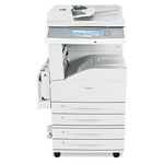 Lexmark X862dte 4 Multifunction Printer With Copy/Fax/Print/Scan