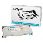 Lexmark High Yield Toner Cartridge for C510, Cyan
