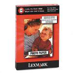 Lexmark Photo Paper, 4 x 6, 100 Sheets per Pack