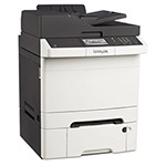 Lexmark CX410dte Multifunction Color Laser Printer, Copy/Fax/Print/Scan