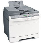 Lexmark X543DN Color Multifunction Laser Printer (Copier/ Printer/ Scanner) with Networking and Duplex Printing