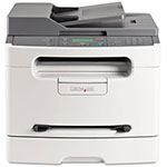 Lexmark X204N Monochrome Multifunction Laser Printer (Fax/Copier/ Printer/ Scanner)