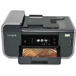 Lexmark Prestige PRO805 Color AllInOne Inkjet Printer (Copier/ Printer/ Scanner) with Wireless Networking
