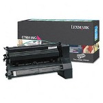 Lexmark C780A1MG Return Program Standard Magenta Toner Cartridge, 6,000 Pages