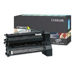 Lexmark C780H1YG Return Program High Yield Yellow Toner Cartridge, 10,000 Pages