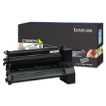 Lexmark C780H2YG High-Yield Toner, 10,000 Page-Yield, Yellow