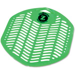 "Impact Urinal Screen, Deodorizing, 7"" x 6.8"", Orchard, Green"