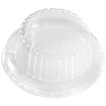 International Paper Clear Dome Cold Food Container Lid, 6 oz. - 16 oz.