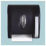 Georgia Pacific Georgia-Pacific Vista® Black Hygienic Push Paddle Roll Paper Towel Dispenser