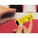 "Box Partners 1 1/4"" x 48"" SLIP-STRIP™ Self Adhesive Label Holder Strip"