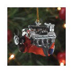 1/18 Scale Resin Chevy L89 Tri Power Engine Christmas Tree Ornament