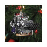 1/18 Scale Resin Hemi Top Fuel Dragster Engine Ornament