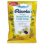 Ricola® Cough Drops, Natural Herb, 21/Bag