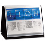 Lion Flip N Tell NA View Binder, Black