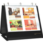 "Lion Easel 1"" View Binder, Black"