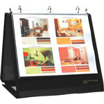 Lion Insta-Cover NA View Binder, Black