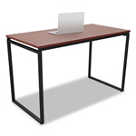 Linea Italia Seven Series Rectangle Desk, 47 1/4 x 23 5/8 x 29 1/2, Cherry
