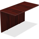 "Lorell Bridge, 1-1/2"" Top, 24"" x 48"" x 29-1/2"", Mahogany"