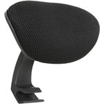 "Lorell Optional Headrest, f/40204, 3-9/10"" x 12-1/5"" x 9-4/5"", BK"