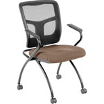 "Lorell Guest Chair, 24""x24""x26"", Malted"