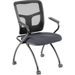 "Lorell Guest Chair, 24""x24""x26"", Chambray"