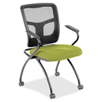 "Lorell Guest Chair, 24""x24""x26"", Citronella"