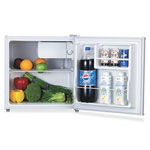 Lorell Compact Refrigerator, 1.6 Cubic Ft, White