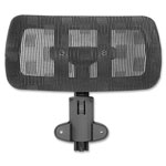 "Lorell Optional Headrest, 12"", f/LLR85560, BK"