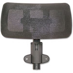 "Lorell Optional Headrest, 11-4/5"" x 12-3/5"" x 6-3/10"", Black"